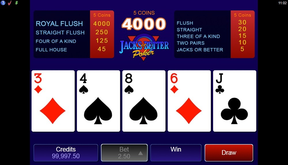 Spin Casino Automated Poker
