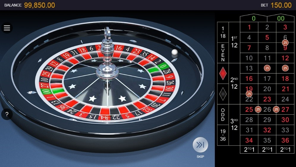 Spin Casino Automated Roulette