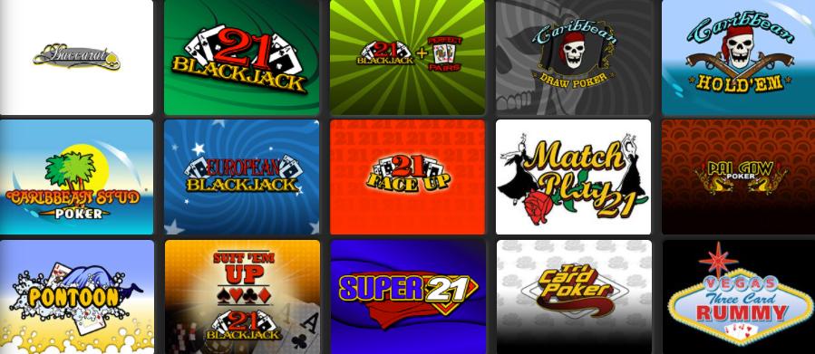 Springbok Casino Automated Casino Table Games