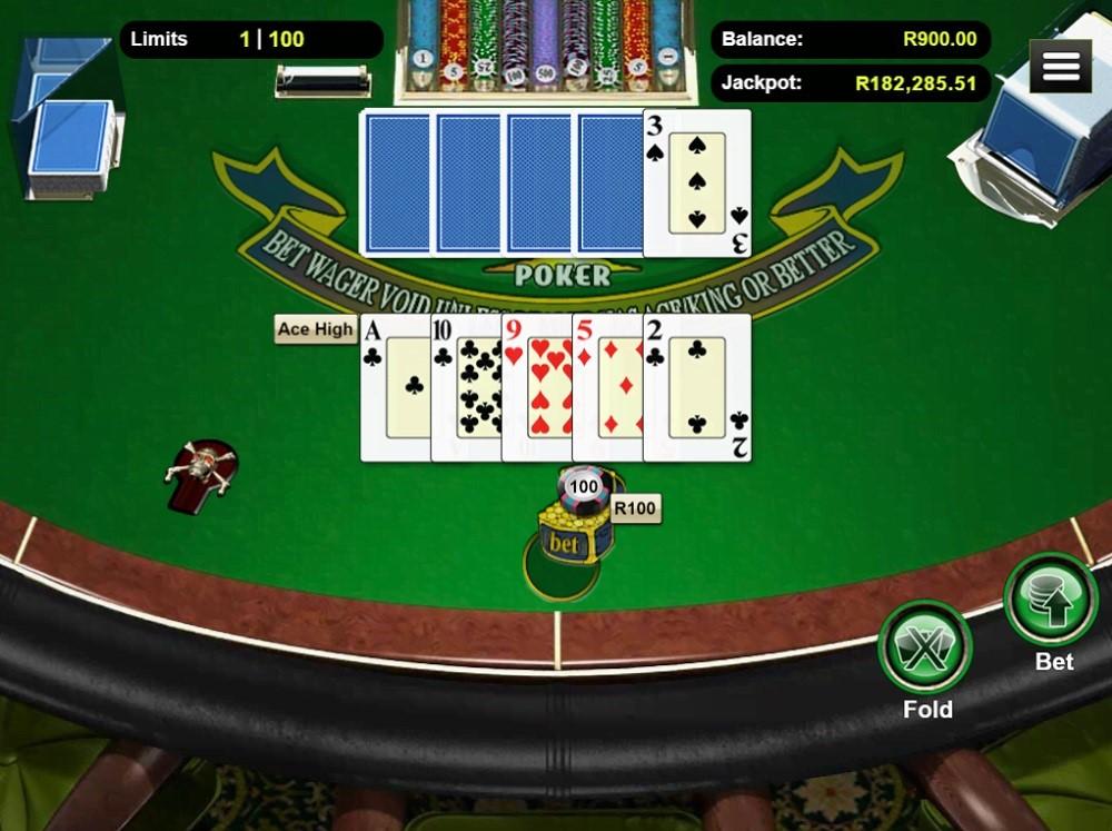 Springbok Casino Automated Poker