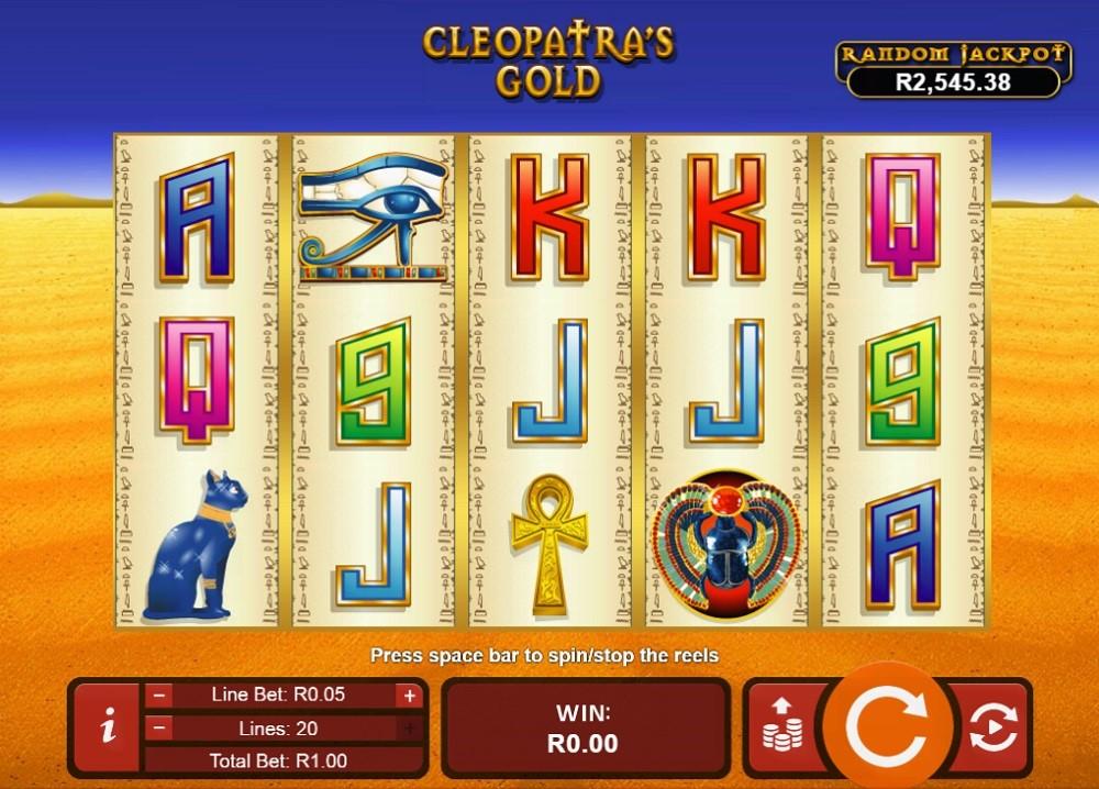 Springbok Casino Slots 3