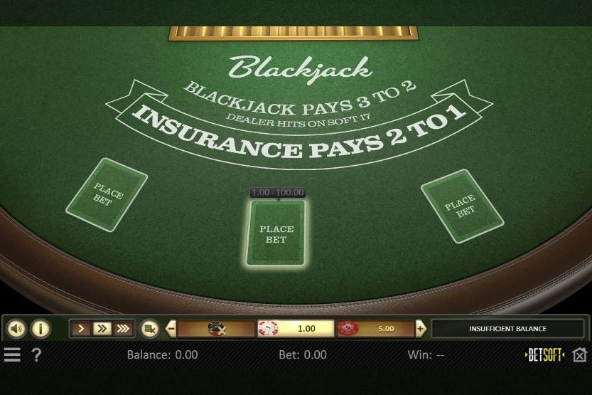 Unique Casino Automated Blackjack