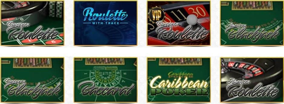 Unique Casino Automated Casino Table Games