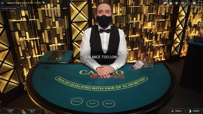 Unique Casino Live Poker