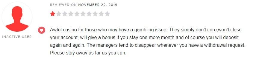 Unique Casino Player Review