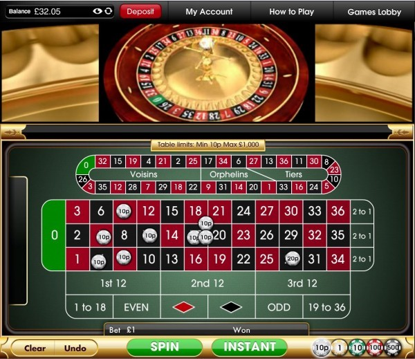 Virgin Games Casino Automated Roulette