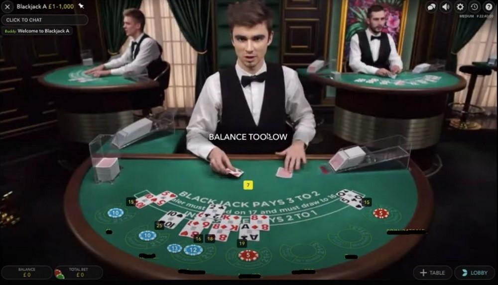 Virgin Games Casino Live Roulette