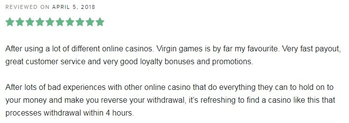 Virgin Games Casino Player Review 5