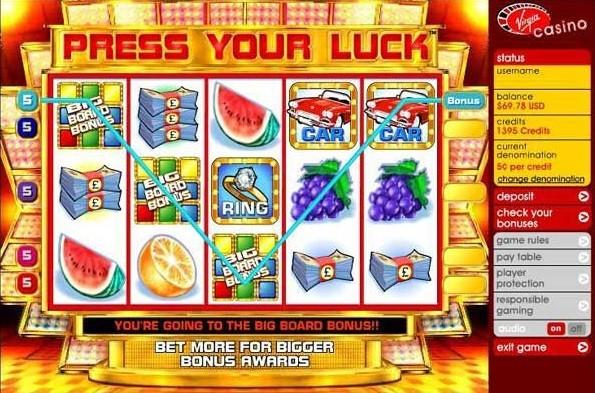 Virgin Games Casino Slots 3