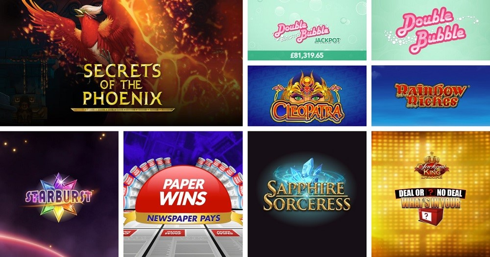 Virgin Games Casino Slots
