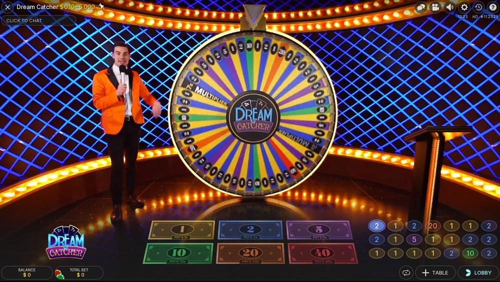 Zodiac Casino Live Game Show