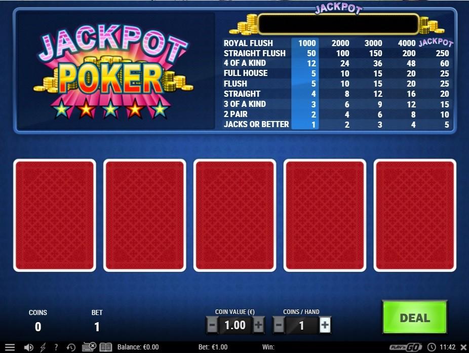 BetWay Casino Automated Poker