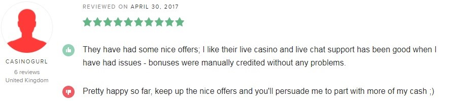 BetWay Casino Player Review 5