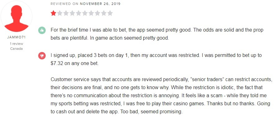 BetWay Casino Player Review