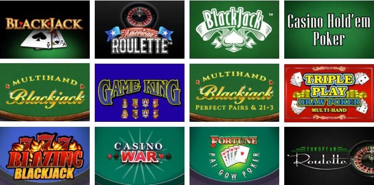 Betfair Casino Automated Casino Table Games