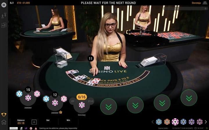 Betfair Casino Live Blackjack