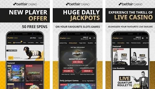 Betfair Casino Mobile App