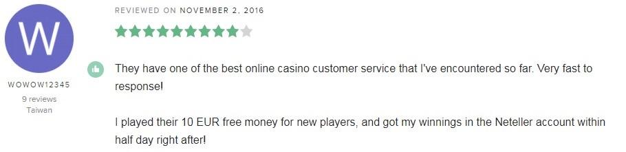 Betfair Casino Player Review 5