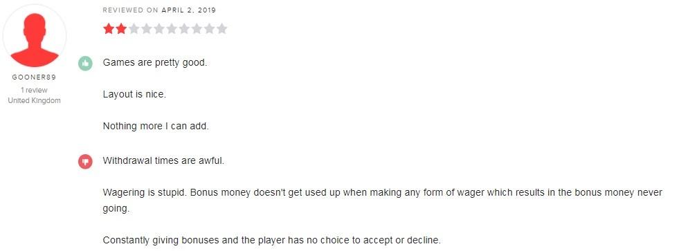 Cashmo Casino Player Review