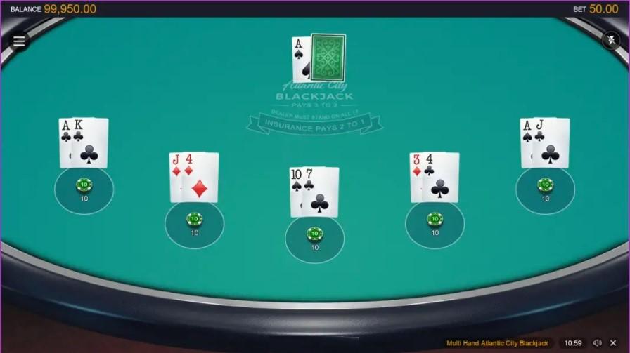Casino Classic Automated Blackjack