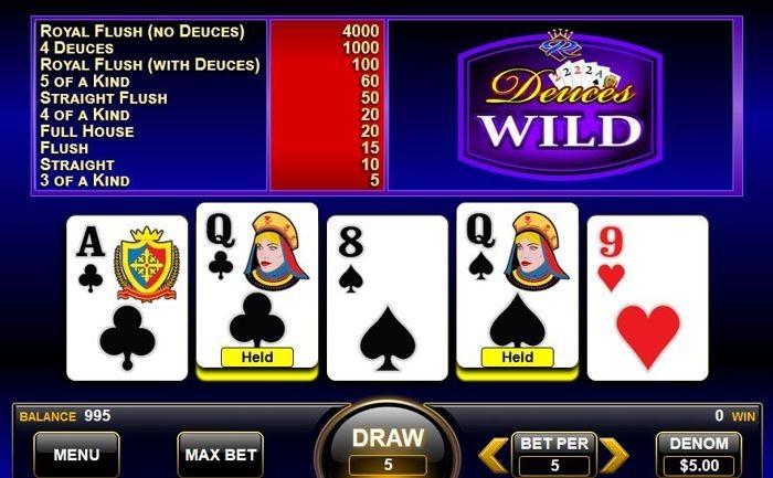 Casino Classic Automated Poker