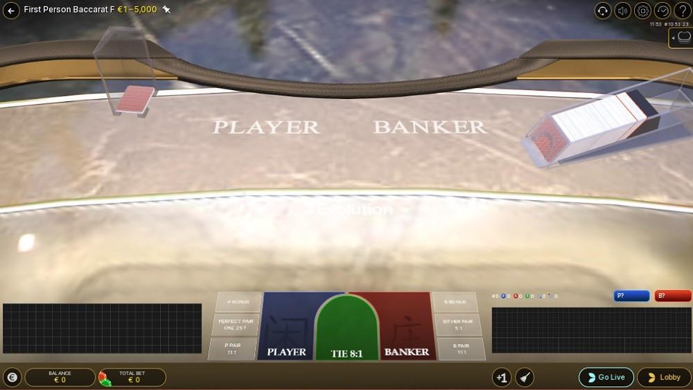 Casino Joy Automated Baccarat