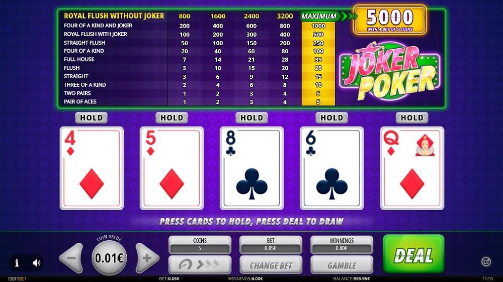 Casino Joy Automated Poker