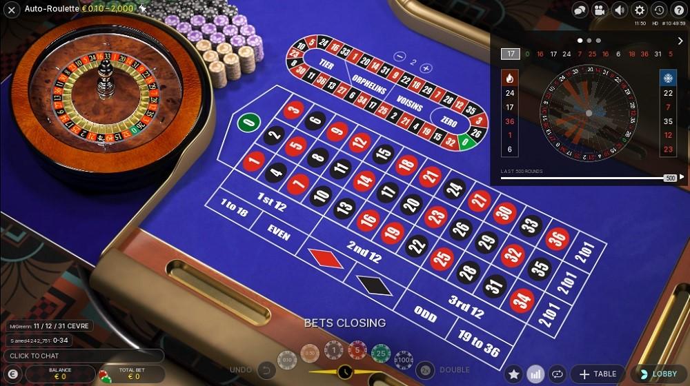 Casino Joy Automated Roulette