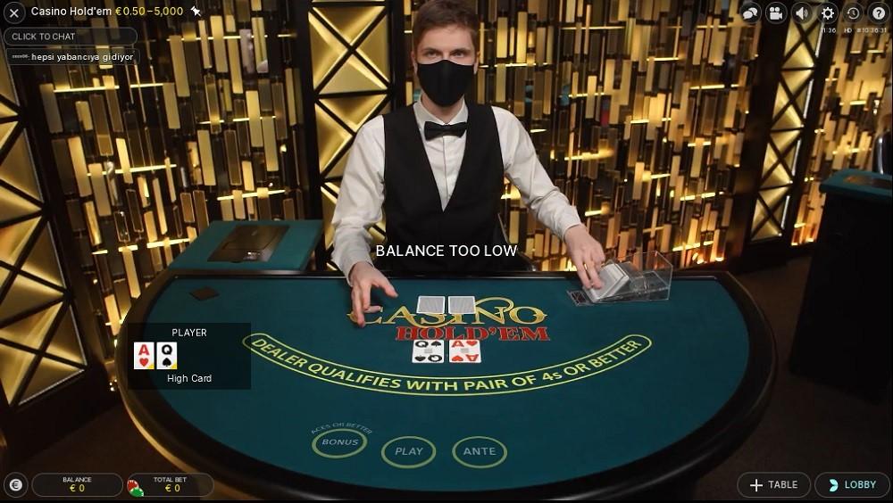 Casino Joy Live Poker
