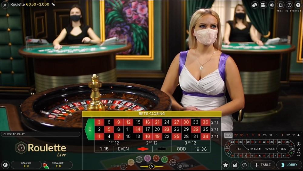 Casino Joy Live Roulette