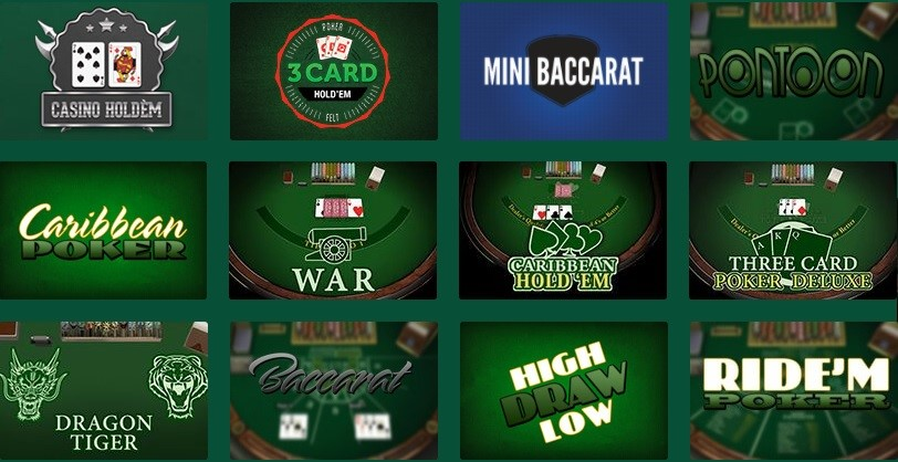 Casino Mate Automated Casino Table Games