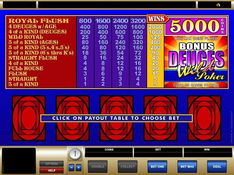 Casino Mate Automated Poker