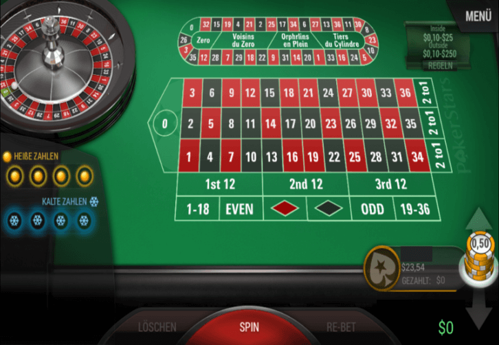 Casino Mate Automated Roulette