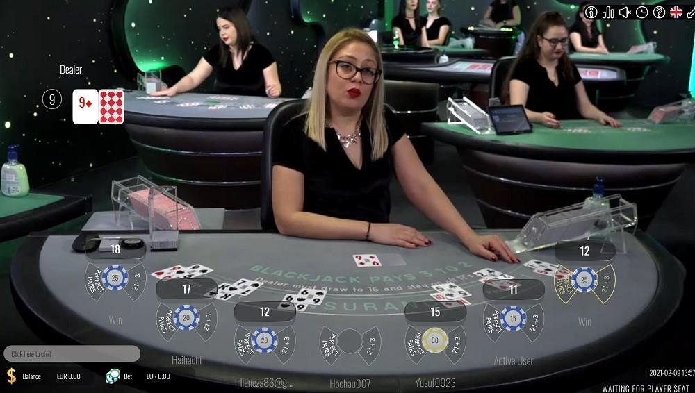 Casino Mate Live Blackjack