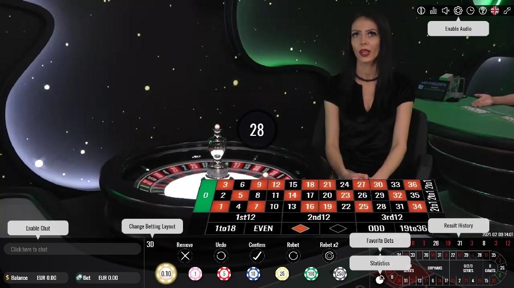 Casino Mate Live Roulette