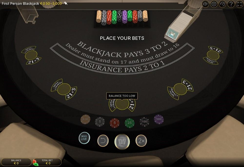 Casino Metropol Automated Blackjack