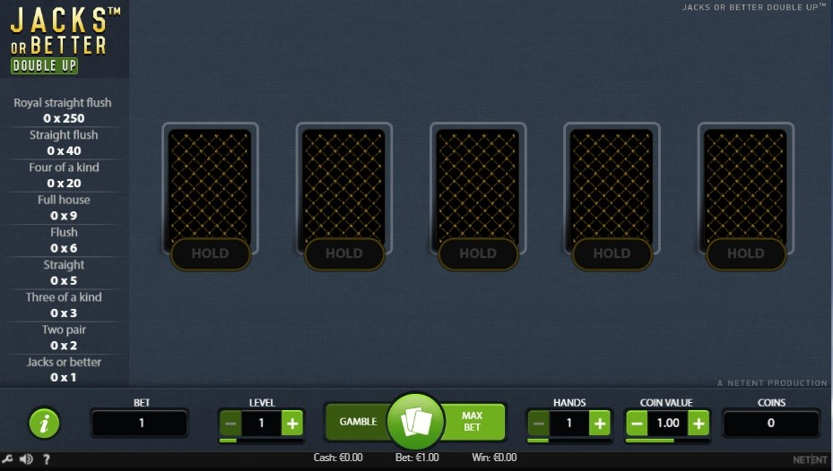 Casino Metropol Automated Poker