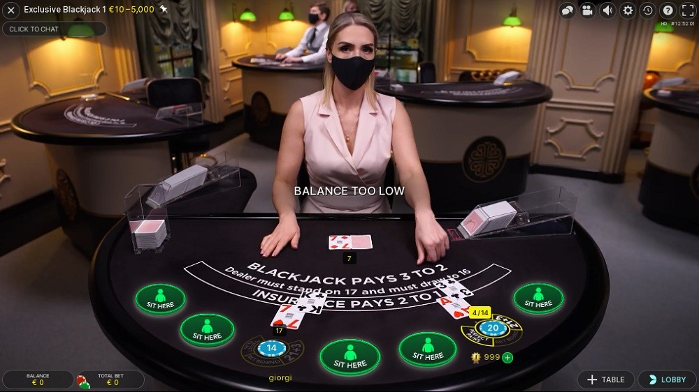 Casino Metropol Live Blackjack