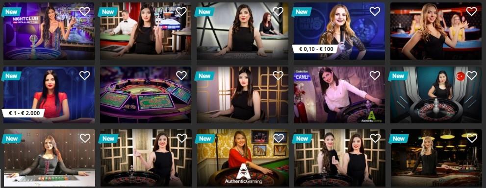 Casino Metropol Live Casino Games
