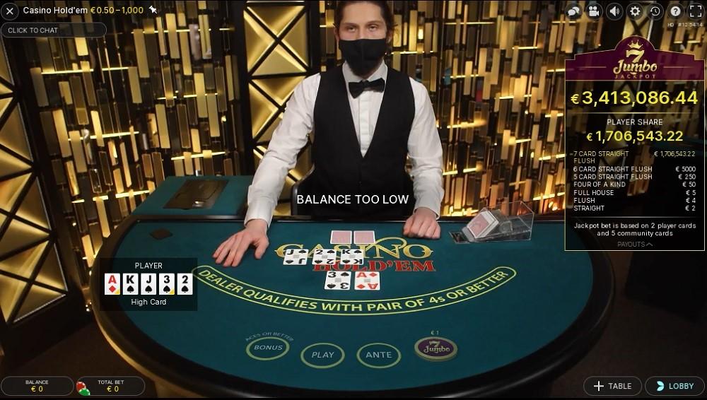 Casino Metropol Live Poker