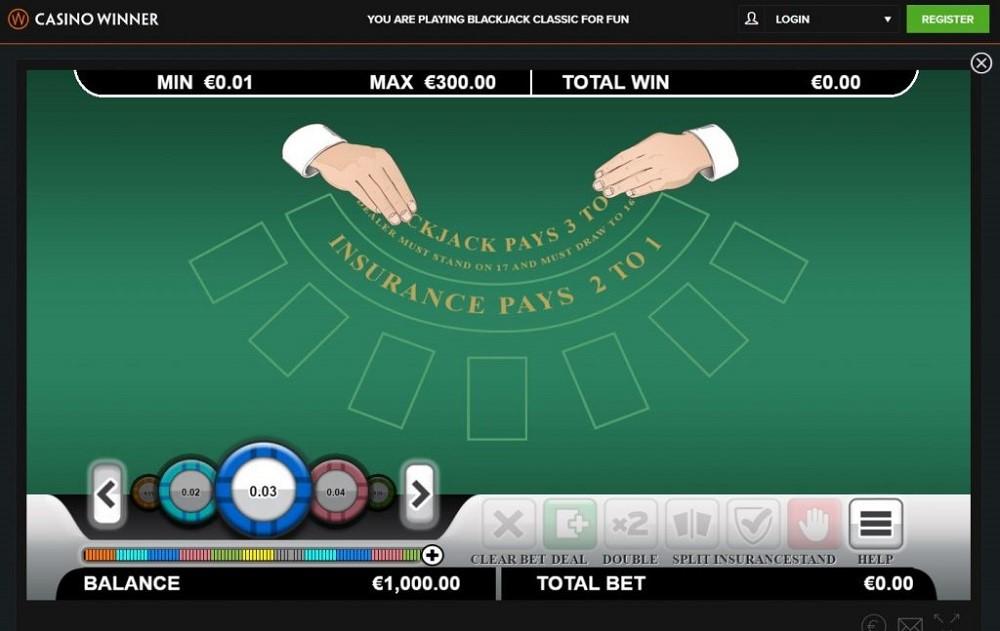 Casino Winner Automated Blackjack