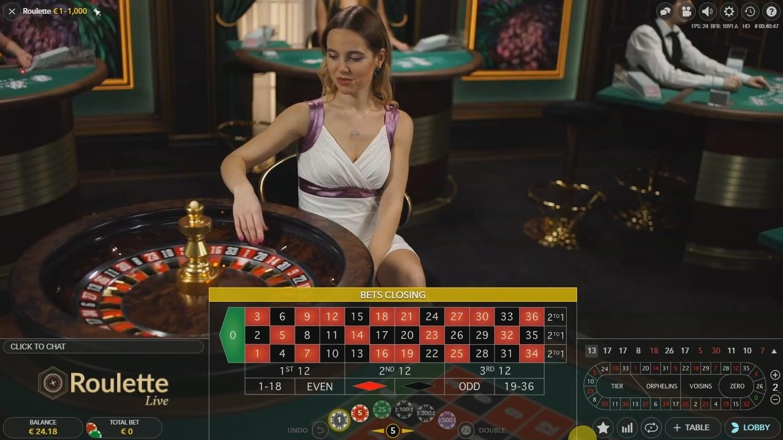 Casino Winner Live Roulette
