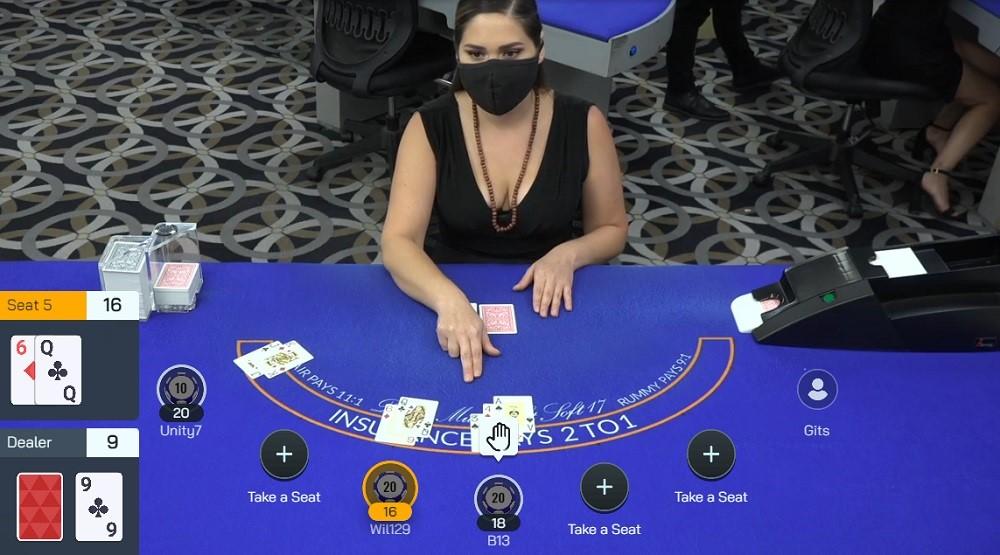 CasinoMax Live Blackjack