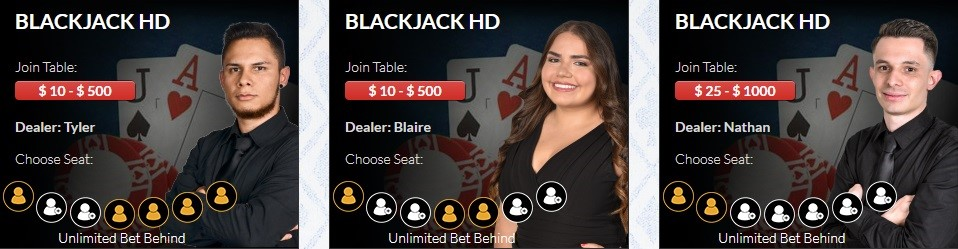 CasinoMax Live Casino Games