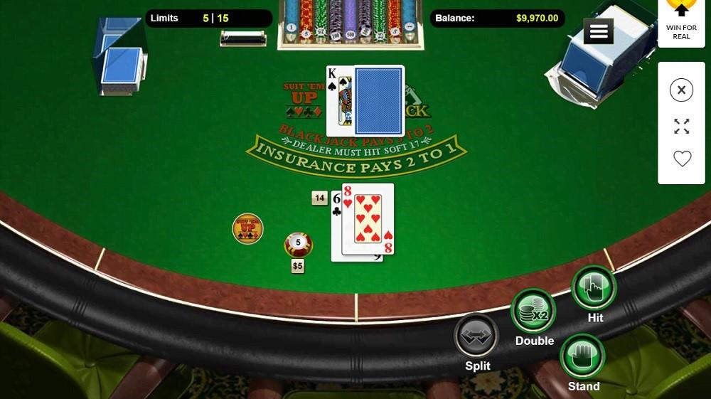 CoolCat Casino Automated Blackjack
