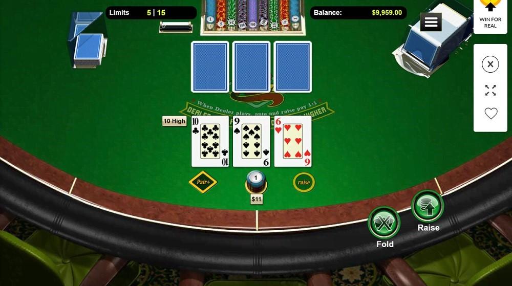 CoolCat Casino Automated Poker