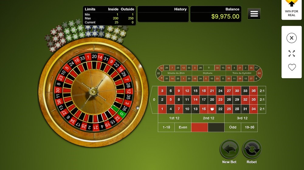 CoolCat Casino Automated Roulette