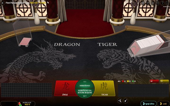 Genesis Casino Automated Baccarat