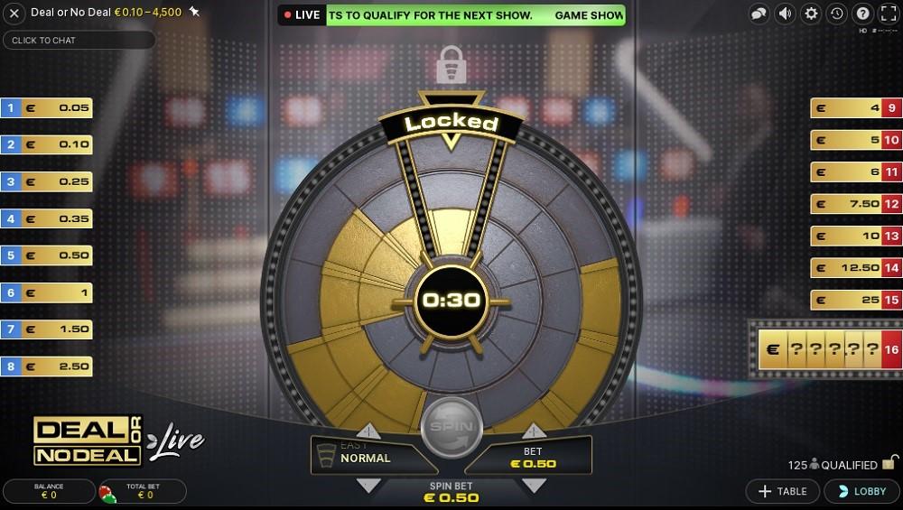 Genesis Casino Live Game Show