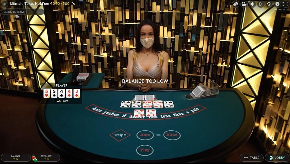 Genesis Casino Live Poker